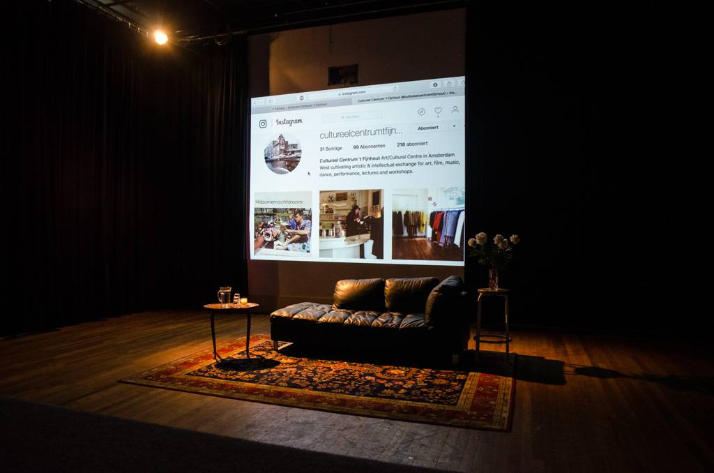 Theaterzaal presentatie Fijnhout